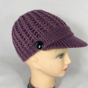 """Scala knit beanie with 2"""" Rim"""